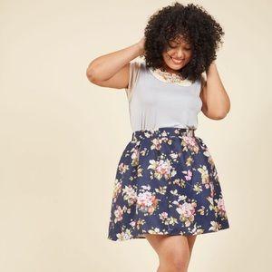 Benevolent Belle fit and flare skirt